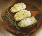 Garlic Stuffed Baked Potatoes