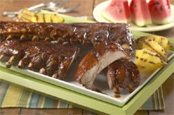 Stuffed Spareribs