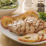 Pork Chops and Apple Rings