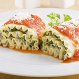 Cheese-Stuffed Manicotti