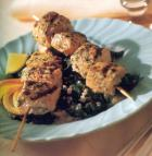 Border Grill Skewered Salmon