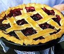 Spiced Rhubarb Pie