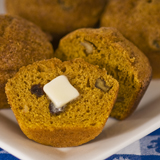 Pumpkin-Walnut Bread