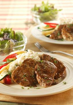 Roasted Pork Tenderloins Tangiers