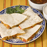 Italian Pepper Quesadillas