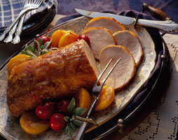 Roast Loin Of Pork With Prunes II