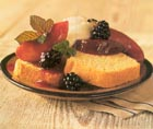 Pound Cake With Cherries And Raisins