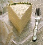 Italian Cream Wedding Cake