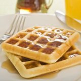 Honey Bran Waffles