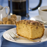 No-Knead Yeast Coffee Cake or Panettone