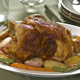 Roast Chicken with Garlic