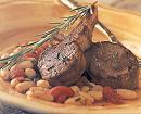 Tuscan Lamb Chop Skillet