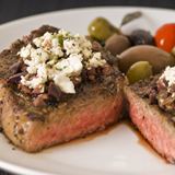 Mediterranean Skillet Steaks