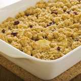Apple, Pear, Cranberry Crisp