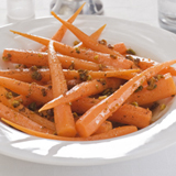 Walnut Honey-Glazed Carrots