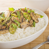 Thai Chicken & Mushroom Stir-Fry