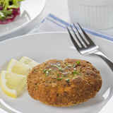 California Crab Cakes on a Bed of Citrus