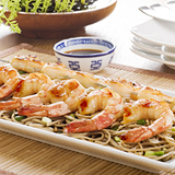 Grilled Shrimp with Lime-Ginger Butter