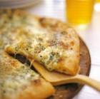 Garlic-Mushroom Saute with Fontina
