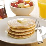 Banana Bran Pancakes