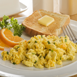 Artichoke-Cheese Scramble