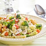 Leftover Pasta Salad