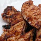 Grilled Chicken with Coriander Sauce