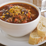 Chili with Ground Beef and Rice