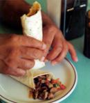 Carne Picada Burritos