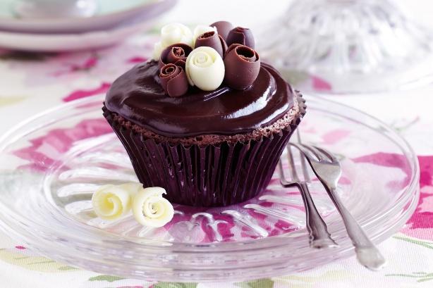 Chocolate mud cupcakes