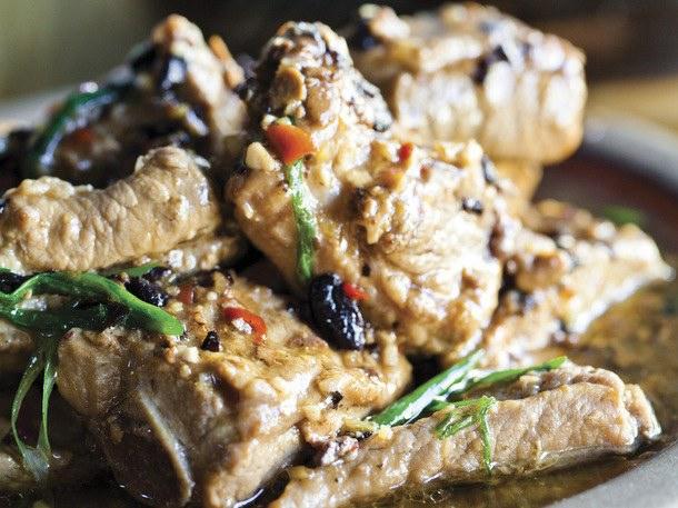 Charles Phan's Black Bean-glazed Pork Spareribs