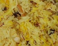 Saffron Pulao Recipe