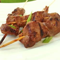 Hoisin-Ginger Beef Skewers