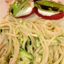 Fresh Zucchini Pasta Sauce