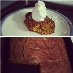 Holiday Left-Over Sweet Potato Cake