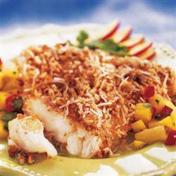 Utokia's Pecan Coconut Crusted Fish Recipe - Tastyfix