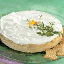 Herb Cheesecake