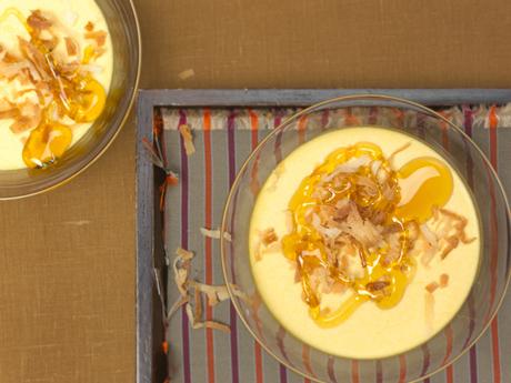 Pumpkin Coconut Panna Cottas