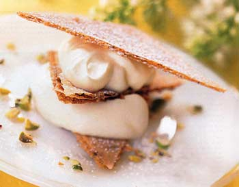 Lemon Mousse Napoleons
