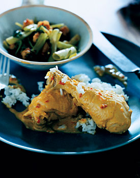 Chicken in Spicy Coconut Sauce