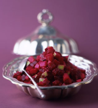 Roasted-Beet and Apple Relish