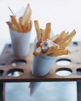 Belgian Fries with Sauce Andalouse