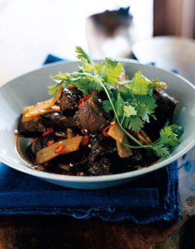 Pork Braised in Dark Soy Sauce