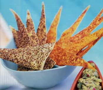 Seeded Tortilla Triangles