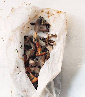 Wild Mushrooms en Papillote