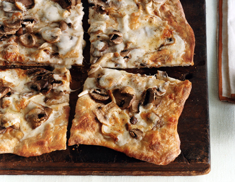 Truffled Taleggio and Mushroom Pizza
