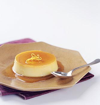 Orange Crème Caramels