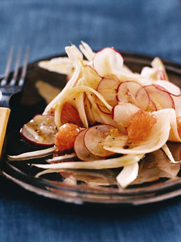 Shaved Fennel, Radish, and Grapefruit Salad