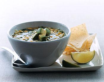 Southwestern Corn and Potato Soup