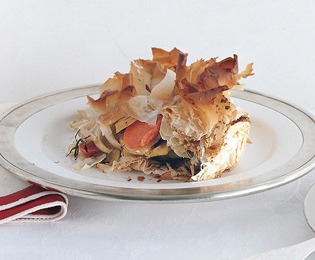Roasted Winter Vegetable Baklava